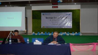 Strategic Session for 2018 at Sylhet sreemongal